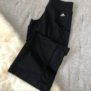 Adidas cropped wideleg workout pant sz.M